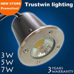 Wholesale Outdoor waterproof V V V COB LED underground light W buried light LED floor light COB LED inground light