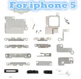 Iphone 4s conjunto completo en Línea-Juego completo del soporte del marco medio de la placa del blindaje medio de las piezas de metal pequeñas para el iphone 6 4.7 '' 5 5C 5S 4 4S