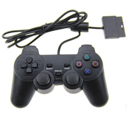 Wholesale Wired Controller Double Vibration Joystick For PS2 Playstation