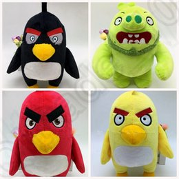 Wholesale KKA103 inch Birds BEAN BAG Bird Plush Stuffed ANIMAL TOY DOLL Stuffed Plush with Tags Birds Baby Dolls super soft Toys
