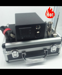 Wholesale best price E Dab Nail Electric kit Titanium Nail Dab with mm flat heater Coil