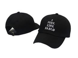 Wholesale I Feel Like Pablo Hats Baseball Caps Snapback Hats Hip Hop Fashion Sports Cap