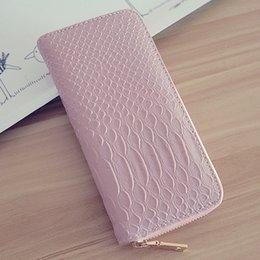 Wholesale EU US Lines design long phone wallet money pocket handle Clutch wallet