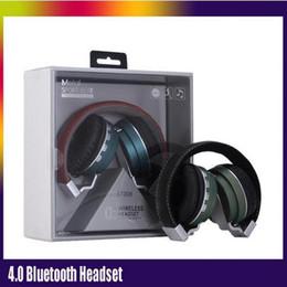 Fashion sports Bluetooth headset HiFi Deep Bass Wireless Stereo Bluetooth V4.0EDR Headband Headphone for TF Card FM Radio