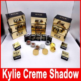 Wholesale Kylie Jenner Kit birthday Edition eyeshadow cream Cosmetics eye shadow Kyshadow eyebrow makeup Long lasting copper rose gold