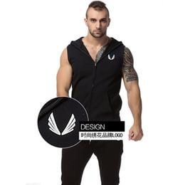 Wholesale-2016 Men Cotton Hoodie Sweatshirts Mens Warm Vest Gilet Uomo Colete Men Sleeveless Jacket Casaco