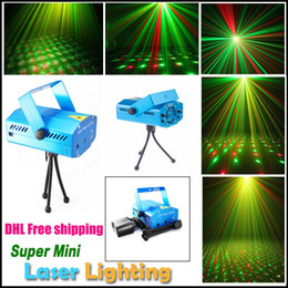 Wholesale Led Strobe Stars - Red and Green Mini Laser Stage Lighting Stars Twinkle LED Effects for Bar Club Party Room Lights with Voice-activated&Auto Model