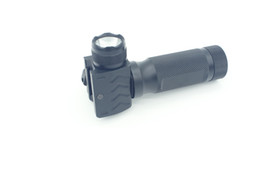 NEW Foregrip Vertical Grip High Power LED Flashlight Fit 20mm QR Rail Mount Free Shipping