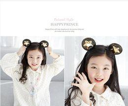 Wholesale Korea Baby Girl Hairbands Ears Hair Sticks Star Hair Bands Christmas Gift For Baby Girl Hair Accessories