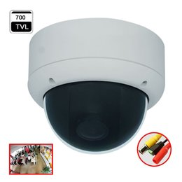 Wholesale 180 Degree Wide Angle Fisheye Analog Dome Camera tvl CCD Effio CCTV Camera Security System Product