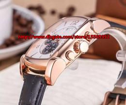 New fashion classic luxury honorable business import function quartz movement rose gold case rectangular waterproof belt men's Watch