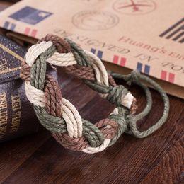 Wholesale Hot Sale Retro Punk Bracelet Multi-Layer Casual Cowhide Bracelet European and American Fashion Bracelet Wholesale