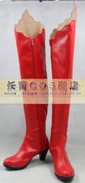 Wholesale Shugo Chara Tsukiyomi Utau Cosplay Shoes boots NC752 Halloween Christmas