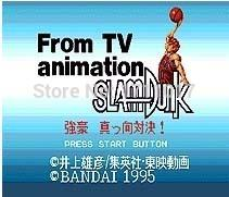 Wholesale DC MD SS SEGA Memery Cards From TV Animation Slam Dunk bit MD Game Card For Sega Mega Drive For Genesis