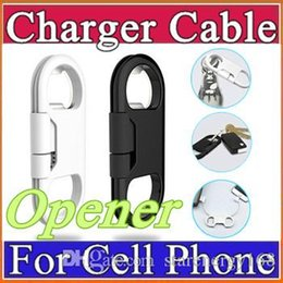 Wholesale 2015 Bottle Cap Opener Charger Sync Cable Corkscrew high Speed USB Data Cables For Samsung GALXY S5 S6 NOTE4 HTC LG J SJ