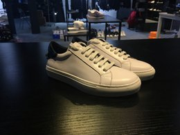 Wholesale 2016 Fashion Womens White Shoes Running Casual Shoes Sneakers Stitching cowhide Sneakers top best quality authentic women white flat shoes