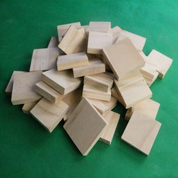 Wholesale Wood plank shipping pad the foot of the bed legs wood wood pad high promotional piece of wood sheet increased custom wood gasket