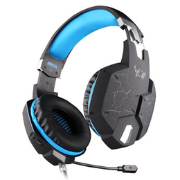 Promotion jeu casque professionnel CHAQUE G1100 Vibration Function Professional Gaming Headphone Games Casque avec Mic Stereo Bass Breathing LED Light pour PC Gamer