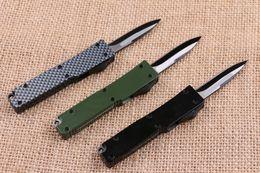 Wholesale 2016 Microtech Benchamde Key Buckle Knife Aluminum T6 Carbon Fiber Folding Knife Mini EDC Pocket Hunting Knife Gift F480L