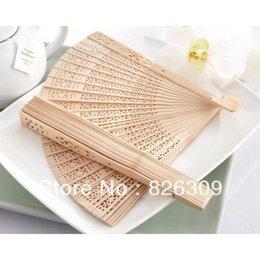 Wholesale Fashion Elegant Chinese wood wedding fan best idea for wedding party gift