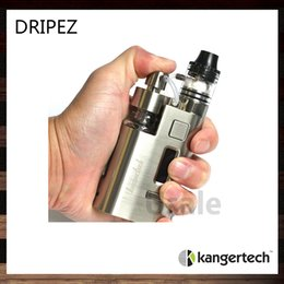 Wholesale Kanger Drip EZ W Kit Kangertech Dripbox EZ Unique Juice Pump Delivery System Unique Screwless Clamp Post Design Original