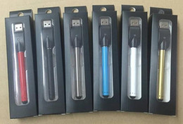 Wholesale CE3 O pen BUD Battery Touch Pen mAh Vapor pen e Cigarettes for Wax Oil Cartridge Vaporizer