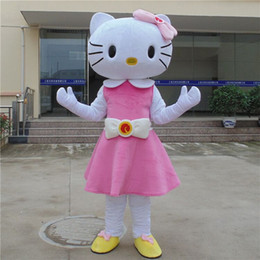 High quality of the adult size Hello Kitty mascot cartoon garment delivery free of charge
