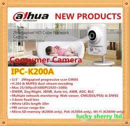 Dahua Consumer Camera 2Megapixel HD Cube Network Camera IPC-K200A
