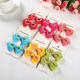 Korean Pet glasses accessories Dog Bow Clip Pet BARRETTE Dog hairpin pet grooming wholesale 30pcs