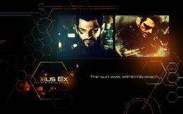 Wholesale 24X36 INCH ART SILK POSTER Deus Ex Human Revolution