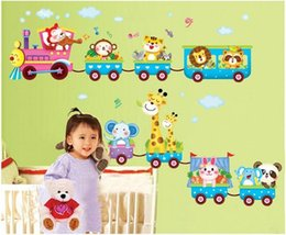 Wholesale Animated cartoon wall stickers Children room wall stickers Indoor wall stick Personality wall stick