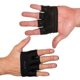 Wholesale Black fingers gym sport glove Power exercise mitt designer Club fitness palm protect physical strength