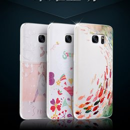 Wholesale shell d phone case Stereoscopic Relief Art High Quality Protector Back Cover Phone cases for samsung galaxy S7 Edge