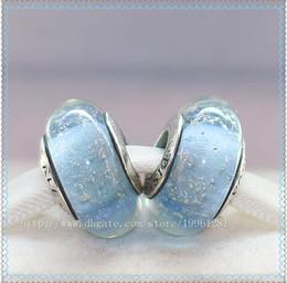 5pcs 925 Sterling Silver Screw Core Elsas Signature Color Fluorescence Murano Glass Bead Fit European Pandora Charm Jewelry Bracelets