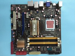 Wholesale original motherboard for ASUS P5QL EM supports DDR2 pin G43 chip with a set of significant