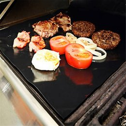 Wholesale Teflon Barbecue Grill Mat for Microwave Oven Outdoor BBQ Accessories x mm
