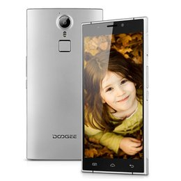 Wholesale Touch ID Octa Core Doogee F5 Bit MTK6573 GB RAM GB ROM G LTE IPS HD Andriod MP Camera Dual Card Smartphone