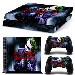 Funny Joker Vinyl Decal Protector Skin Sticker for Sony PlayStation 4 PS4 Console and 2 Controllers Skin Stickers