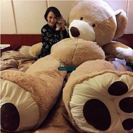 Dorimytrader Jumbo Smiling Bear Toy Large Stuffed Soft Plush Bears Doll Great Baby Lover Gift Decoration DY61019