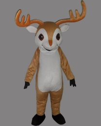 Wholesale best selling Chinese zodiac Big goats mascot costume Animated cartoon dolls items show the antelope