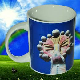 High Quality Porcelain Ceramics Sagrada Família Ceramic Mug Coffee Cup Tea Mugs