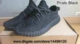 Wholesale 350 Boost shoes boost Sneaker black Kanye Milan West Women Men Fashion Running Shoes Lovers US12 US13 EU47 EU48 RB sole