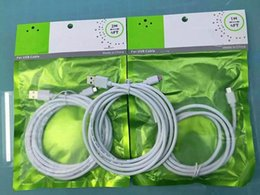 Wholesale Belkin For Date Sync Cable USB M M M Charger Cord For Samsung S4 S6 Edge S7 Plus Note with Retail Package Bags High Qualtiy