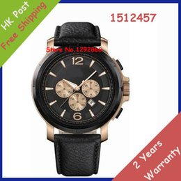 Wholesale Men s mm Black Polyurethane Stainless Steel Case Date Watch Original box