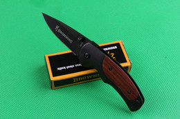 Wholesale Special offer Browning FA15 Pocket Folding knife Outdoor camping hiking Small folding knife knives with original paper box pack
