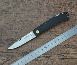 Wholesale Brother G Pocket EDC Camping Outdoor Folding Knife Satin C Blade Black G10 Handle Navy K611