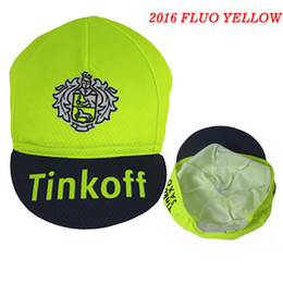 Wholesale 2016 Tinkoff Pro Team Cycling Cap Ciclismo Bike Riding Bicycle Cap Pirate Scraf Cycling Hat Handwear Cap