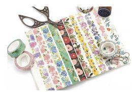 Wholesale Adesiva Decorativa Masking Tape 2016 Japoneses Decor Washi Tape