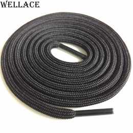 Wellace Two Tone Color Hiking Boot Laces Portable Rope Lacing Running Shoestring 120cm Sport Color Shoelaces for Sneaker Custom