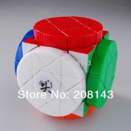 Dayan juguete en venta-Dayan Rueda de la Sabiduría Magic Cube Stickerless Gran Niños Jigsaw Educativo Twisty Toy cubo magico para Speedcubers